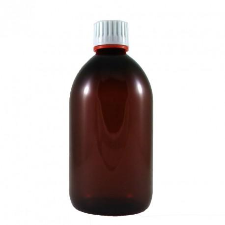 Verrerie de laboratoire : flacon verre ambré 60 ml MT028